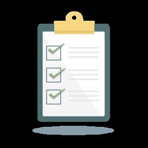 Eine symbolische Checkliste für die ISO 45001